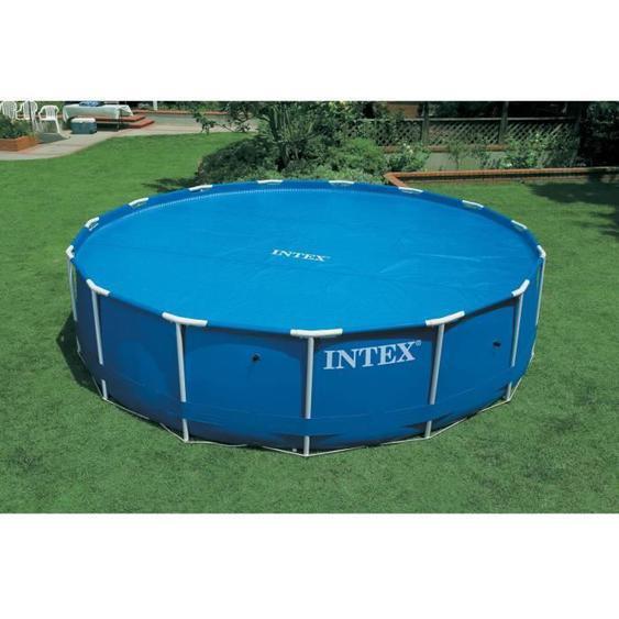 Intex bâche a bulles diam 3,44m pour piscine diam 3,66m