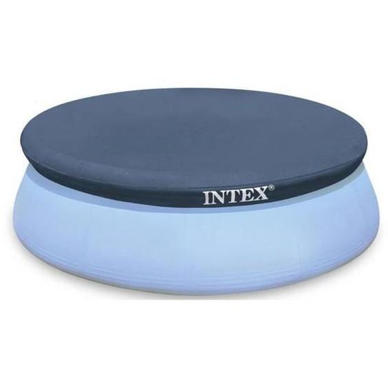 Intex bâche protection pour piscine autoportante 3m66