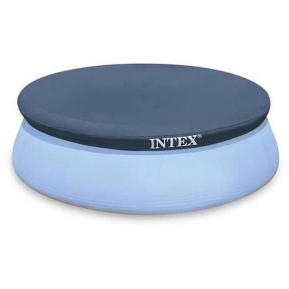Intex bâche protection pour piscine autoportante 4m57