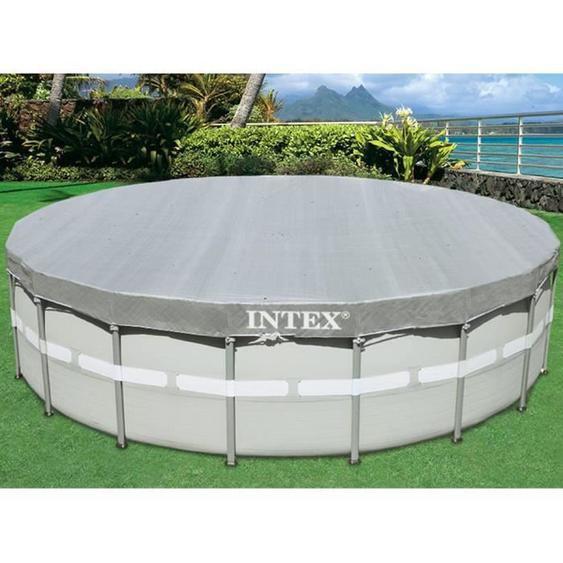 Intex bâche protection pour piscine ronde 5m49