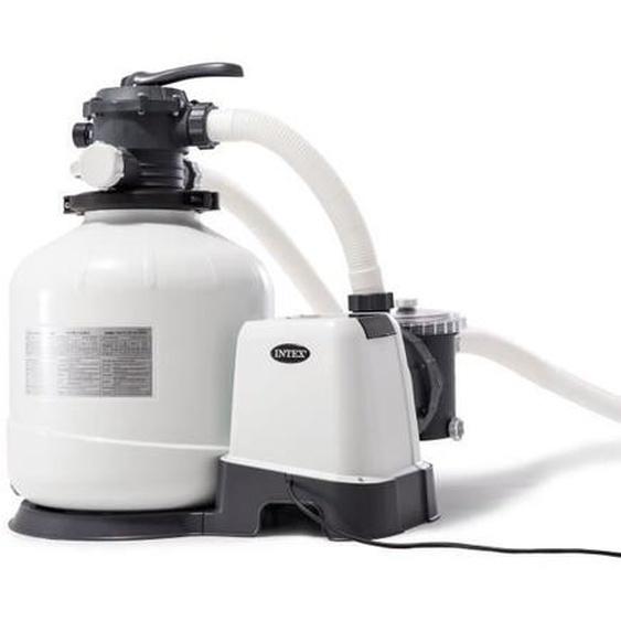 Intex filtre à sable 10m3/h pour piscine jusquà 65m3