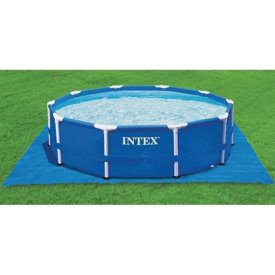 Intex tapis de sol 4,72m x 4,72m