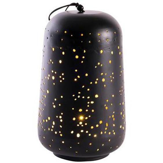 JANNA Lanterne noir H 28 cm; Ø 16 cm