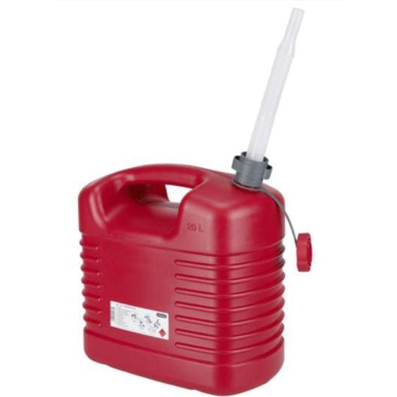 Jerrycan carburant avec bec flexible 20 L - PRESSOL - 21 137