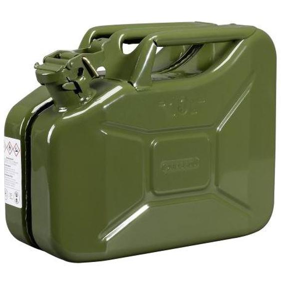 Jerrycan carburant métallique 10 L - PRESSOL - 21 055