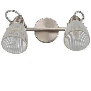 Kara - applique de salle deau LED verre texturé