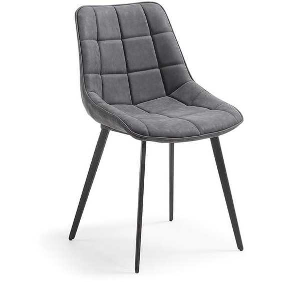 Kave Home - Chaise Adam gris