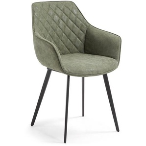 Kave Home - Chaise Amira vert