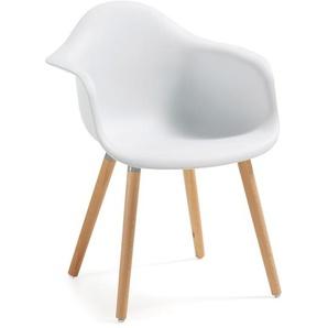 Kave Home - Chaise Kevya blanc