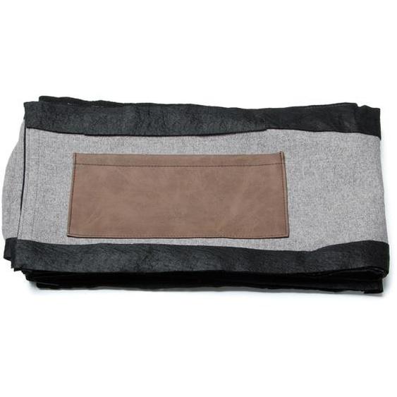 Kave Home - Housse de lit Dyla 160 x 200 cm gris
