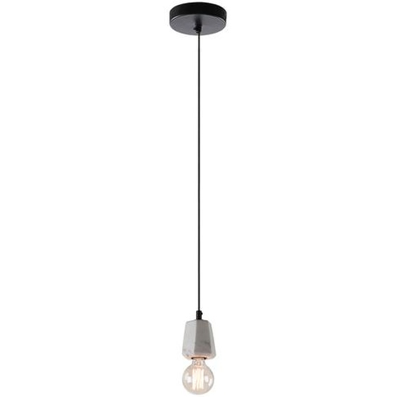 Kave Home - Lampe suspension Bray blanc