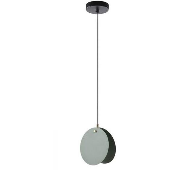 Kave Home - Lampe suspension Monica vert