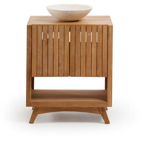 Kave Home - Meuble salle de bain rectangulaire Kuveni 70 x 80 cm