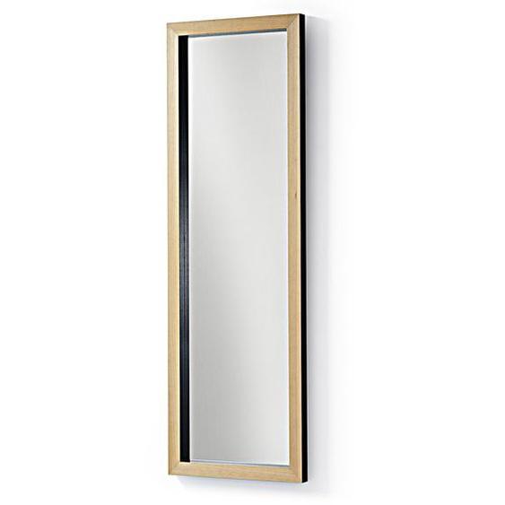 Kave Home - Miroir Enzo 48 x 148 cm noir