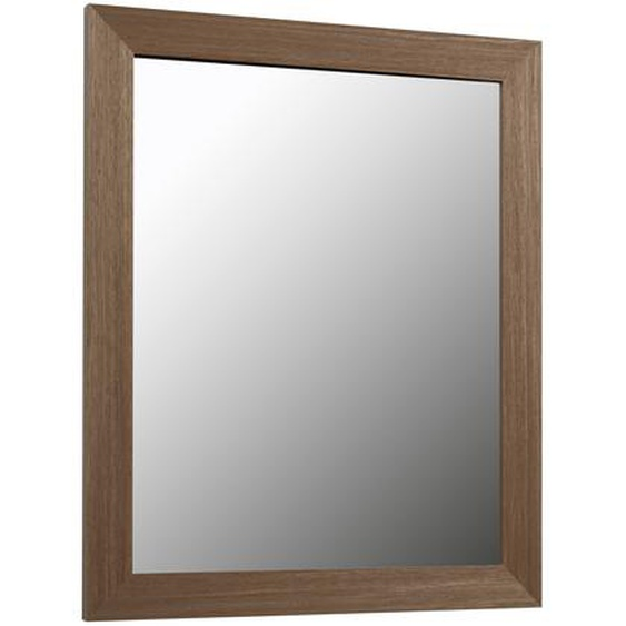 Kave Home - Miroir Nerina 47 x 57,5 cm finition noyer