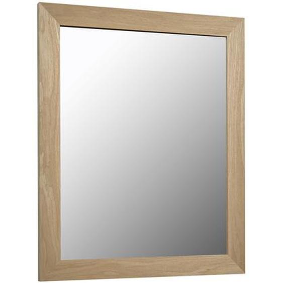 Kave Home - Miroir Wilany 47 x 57,5 cm cadre épais finition naturelle
