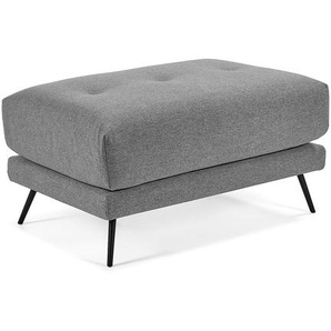 Kave Home - Pouf Sahira 80 x 60 cm gris