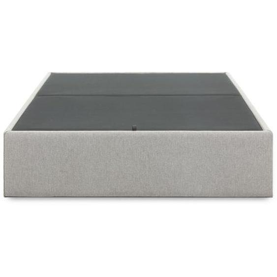 Kave Home - Sommier coffre Matters 150 x 190 cm gris