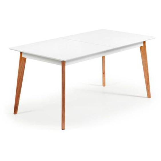Kave Home - Table extensible Melan 160 (200) x 90 cm