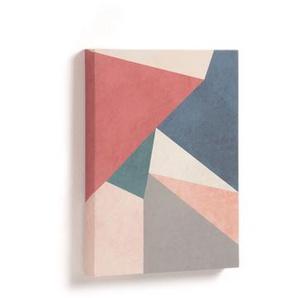 Kave Home - Tableau Kyrene triangle rouge