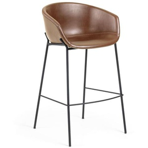 Tabouret de bar Yvette marron