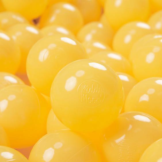 100 ∅ 7Cm Balles Colorées Plastique Pour Piscine Enfant Bébé Fabriqué En EU, Ensembles monocolore - Kiddymoon