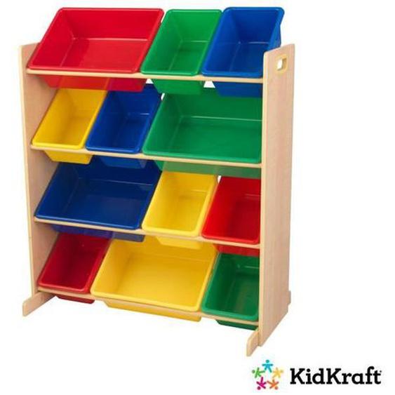 KIDKRAFT - Meuble de rangement avec casiers - couleurs primaires
