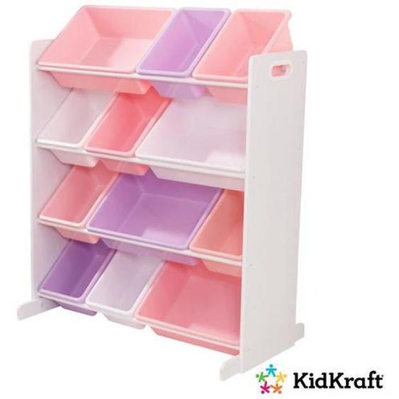 KIDKRAFT - Meuble de rangement enfant avec casiers - pastel