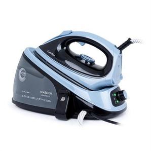 Klarstein Speed Iron V2 Fer à repasser à vapeur 2100 W 1100 ml noir / bleu