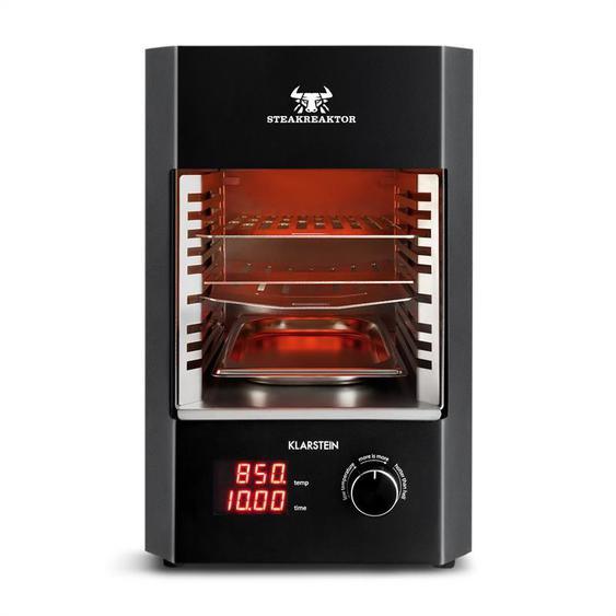 Klarstein Steakreaktor barbecue intérieur 850°C 1600W infrarouge