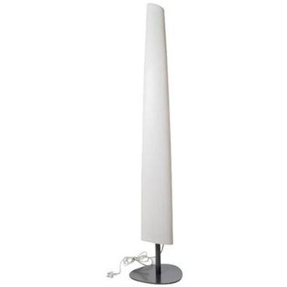Lampadaire lumineux design fin filaire pour extérieur éclairage puissant LED blanc BAY H160cm