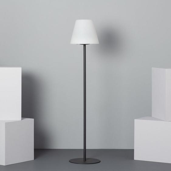 Lampe à Pied LED Solaire Blanc Chaud 2800K - 3200K Blanc,Noir - Blanc Chaud 2800K - 3200K Blanc,Noir - LEDKIA