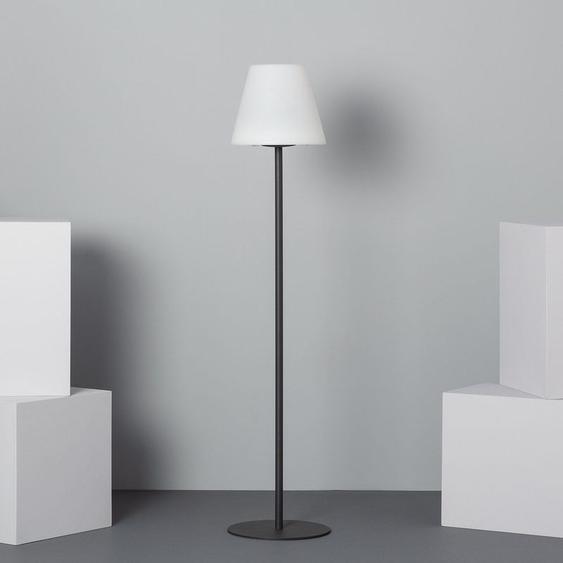 Lampe à Pied LED Solaire Blanc Neutre 3800K - 4200K Blanc,Noir - Blanc Neutre 3800K - 4200K Blanc,Noir - LEDKIA