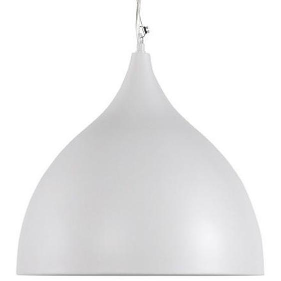 Lampe à suspendre en métal peint - Phency - Blanc