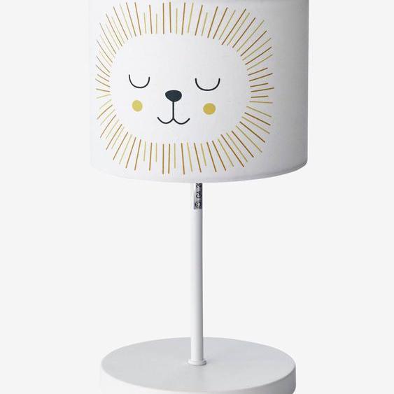 Lampe de chevet Lion beige
