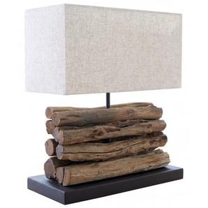 Lampe de table en bois flotté - Paxton