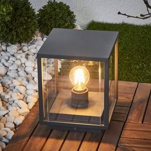 Lampe pour socle rectangulaire vitrée Annalea
