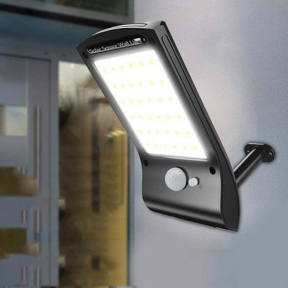 Lampes Solaires Extérieures Super Lumineuses 36 Led Lampe Solaire 280lm Capteur De Mouvement Capteurs De Sécurité Sans Fil Imperméabilisez Les Lumières Murales Flexibles