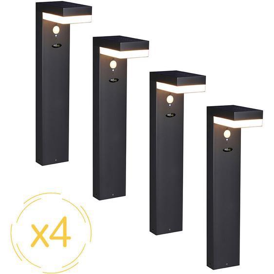 Lampes solaires ® Solar way xl - Pack de 4 lampes - Ezilight
