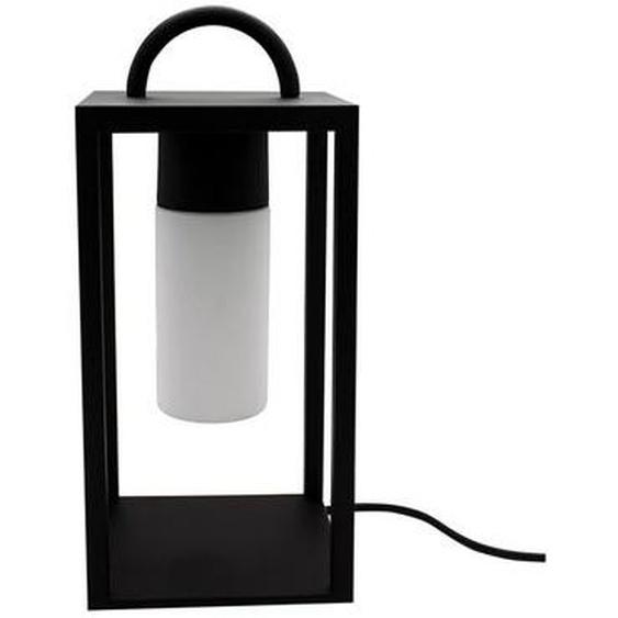 Lanterne filaire nomade pour extérieur poignée métal éclairage puissant LED JAZZ H46cm culot E27