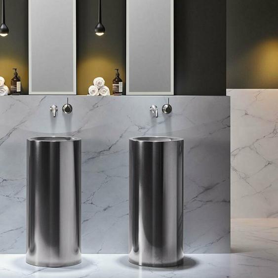 Lavabo Alape WT.RX400K, rond Ø 40,4cm, 4503000000, Coloris: Fer noir (métallique) - 4503000190
