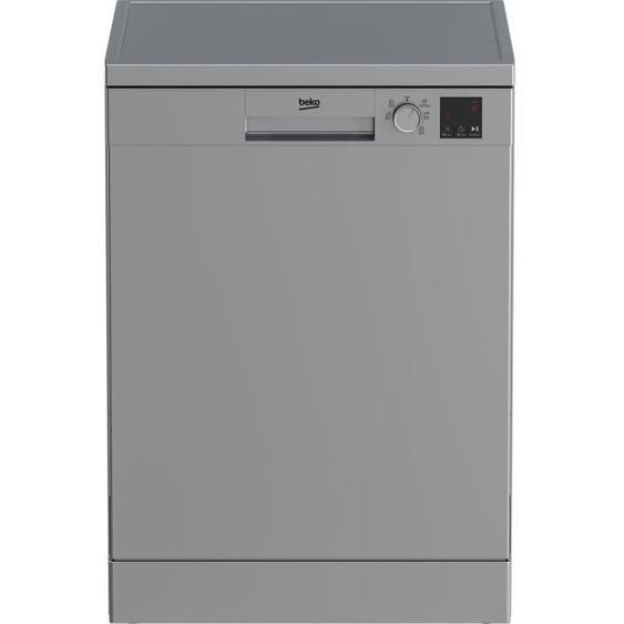 Lave-vaisselle BEKO LVV4729S - 14 couverts - Largeur 60 cm - Classe A++ - 47dB - Silver