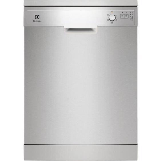 Lave-vaisselle pose libre ELECTROLUX ESF5209LOX - 13 couverts - Moteur induction - Largeur 60 cm - Classe A++ - 47 dB - Inox/silver
