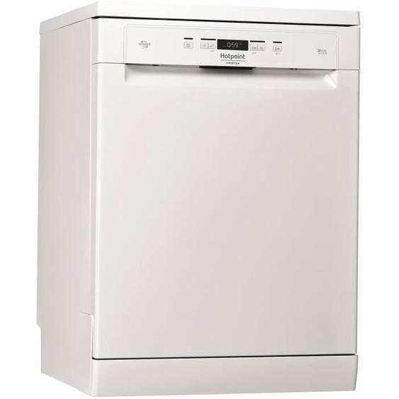 Lave-vaisselle pose libre HOTPOINT HFO3T222WG - 14 couverts - Largeur 60 cm - Classe A++ - 42 dB - Blanc