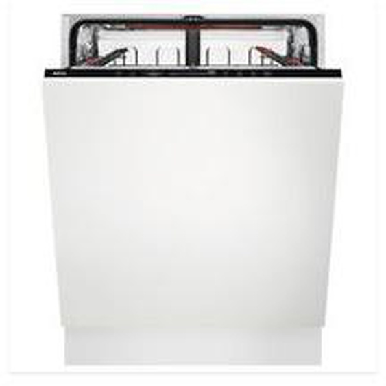 Lave vaisselle tout encastrable AEG FSE63657P Blanc Aeg