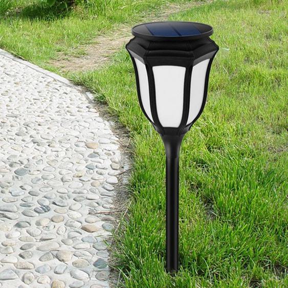 Led Avec Panneau Solaire 96 Leds Smd 2835 2800k Respectueux De Lenvironnement Hexagone Forme Lampe De Contrôle De La Lumière De La Torche Avec 5.5v / 1w