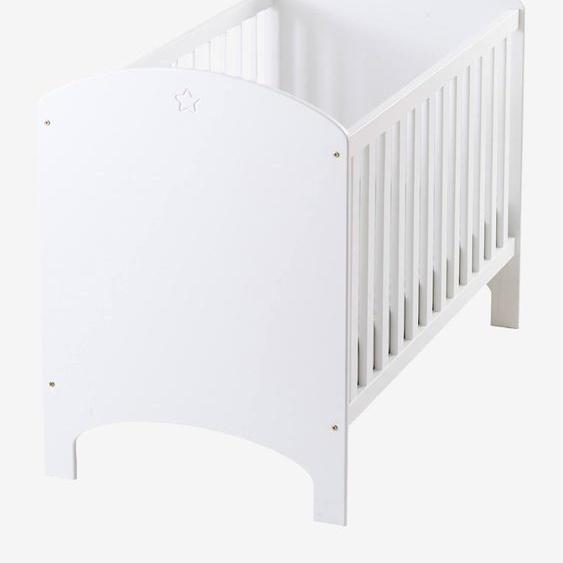 Lit bébé à barreaux LIGNE SIRIUS blanc