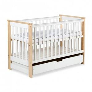 Lit bébé évolutif 120x60 Kiwo - Pin - 60 cm x 120 cm