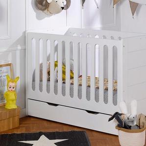 Lit bébé évolutif Module Blanc 70x140