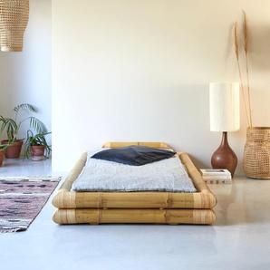 Lit futon en tiges bambou 90x190 Balyss